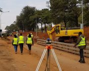 Turffontein Storm water Phase 1 B is 80 % complete